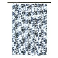 Bath Bliss Greek Key Shower Curtain Liner