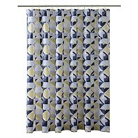 Bath Bliss Geometric Shower Curtain