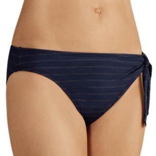 Women's Amoena Andros Lurex Striped Bikini Bottoms