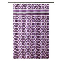 Bath Bliss Pinwheel Shower Curtain
