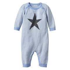 Baby Boy Cuddl Duds Star Sweater Coverall