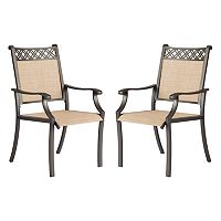 SONOMA Goods for Life™ Coronado Decorative Back Outdoor Arm Chair 2 pc Set