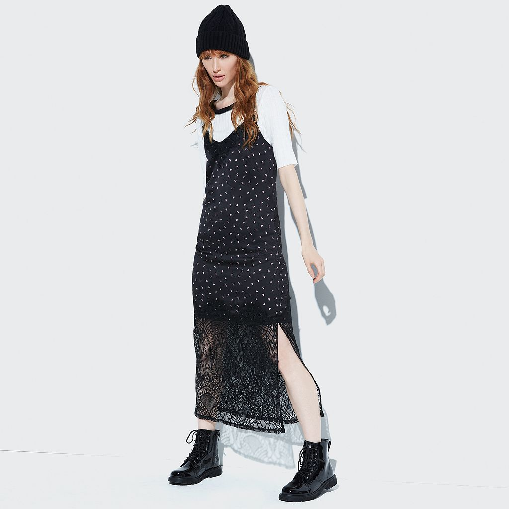 k/lab Lace Maxi Slip Dress