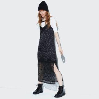 k/lab Lace Maxi Slip Dress