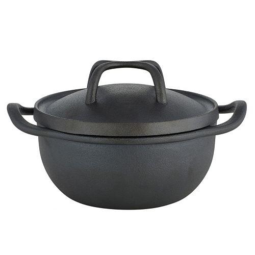 Sabatier Pre-Seasoned Cast-Iron Rust-Resistant Chili Bean Pot