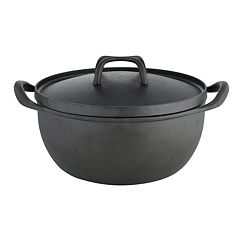 Sabatier 5.5-qt. Pre-Seasoned Cast-Iron Rust-Resistant Dutch Oven