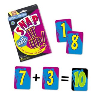Snap It Up! Addition & Subtraction Card Game by Learning Resources
