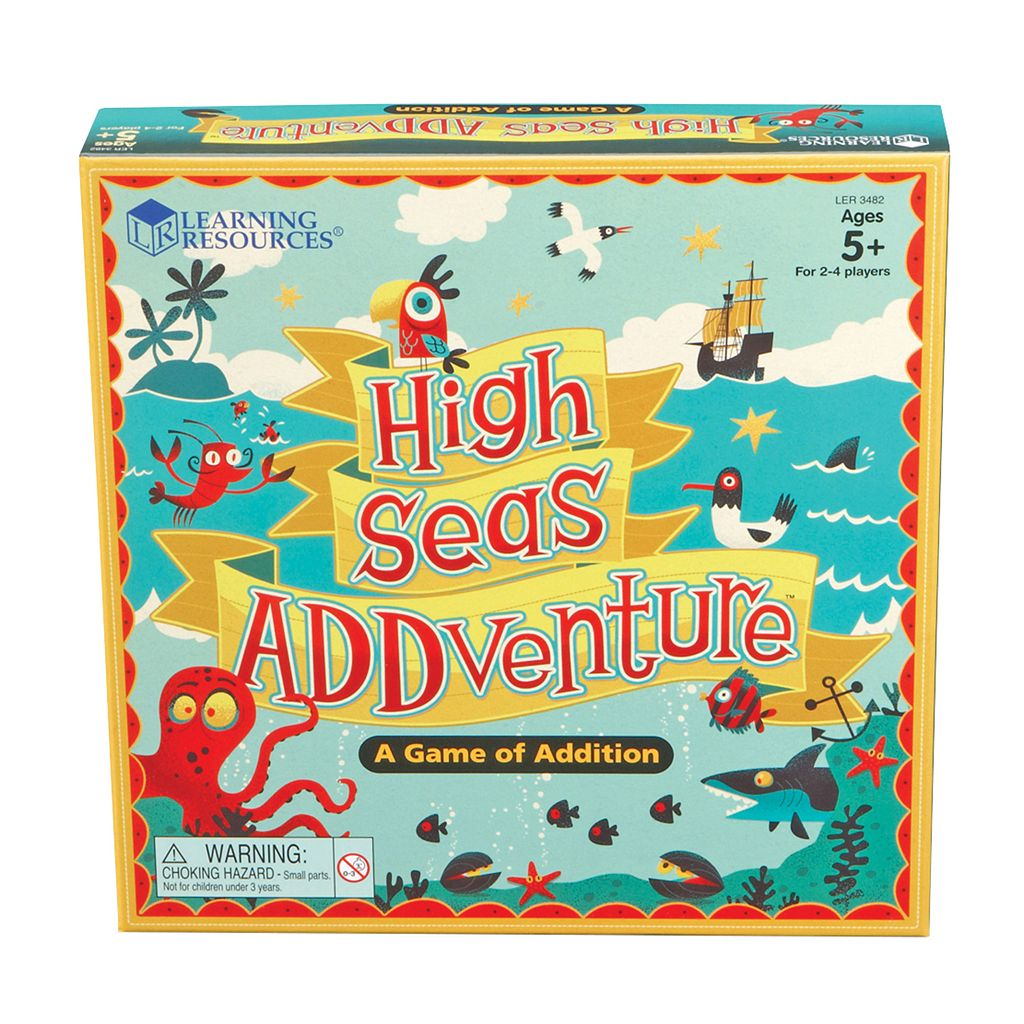 Learning Resources High Seas ADDventure Board Game