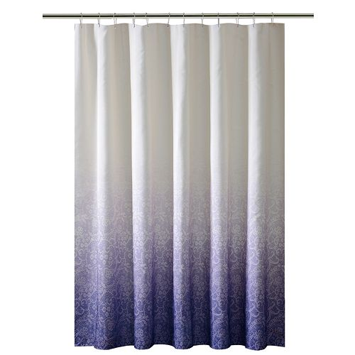 Bath Bliss Lace Ombre Shower Curtain