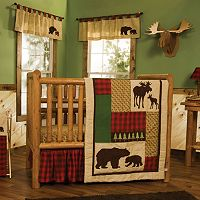 Trend Lab Northwoods 6 pc Crib Bedding Set