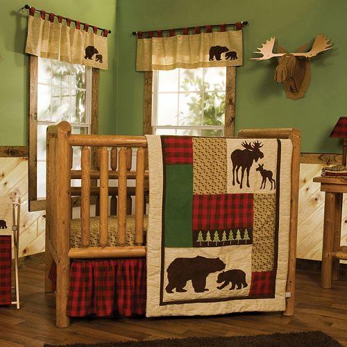 Trend Lab Northwoods 6 Pc Crib Bedding Set