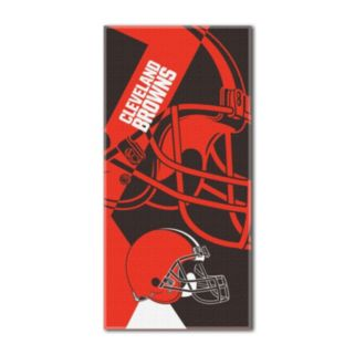 Cleveland Browns Puzzle Oversize Beach Towel by Northwest