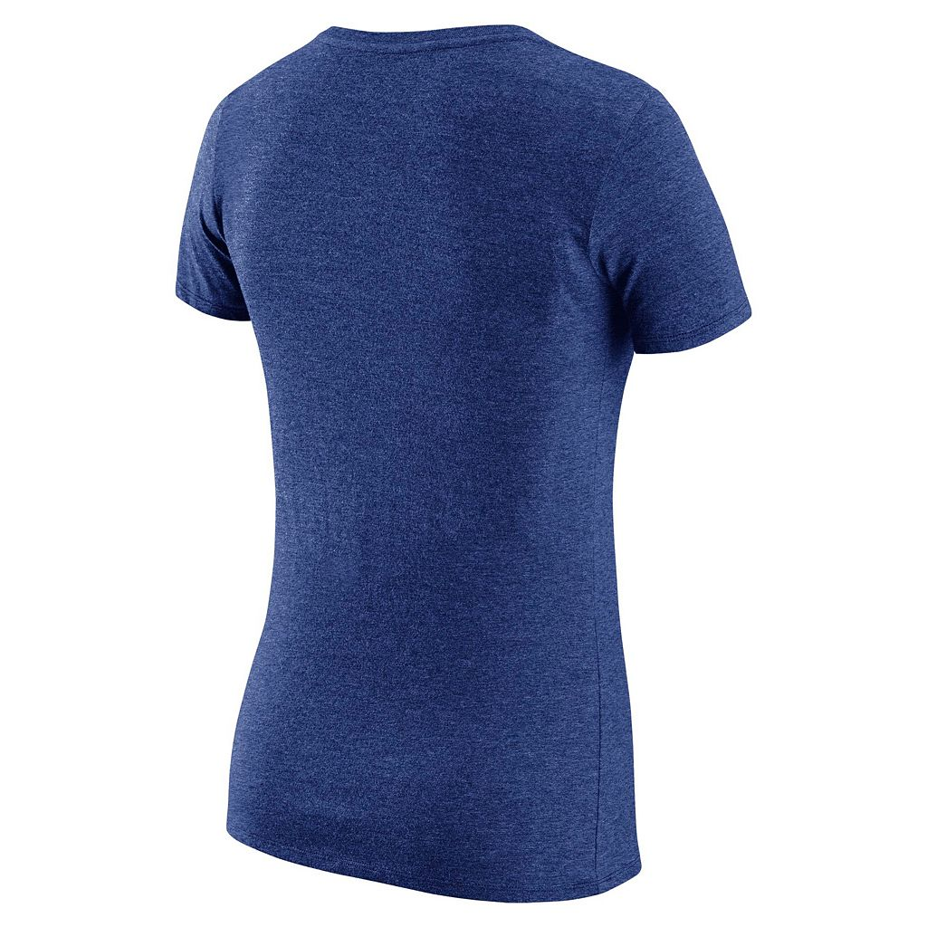 Women's Nike Los Angeles Dodgers Practice V-Neck Tee