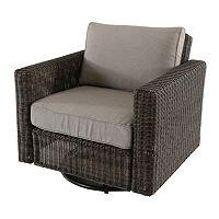 SONOMA Goods for Life™ Brampton Outdoor Swivel Arm Chair