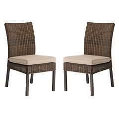 SONOMA Goods for Life™ Brampton Outdoor Armless Dining Chair 2 pc Set
