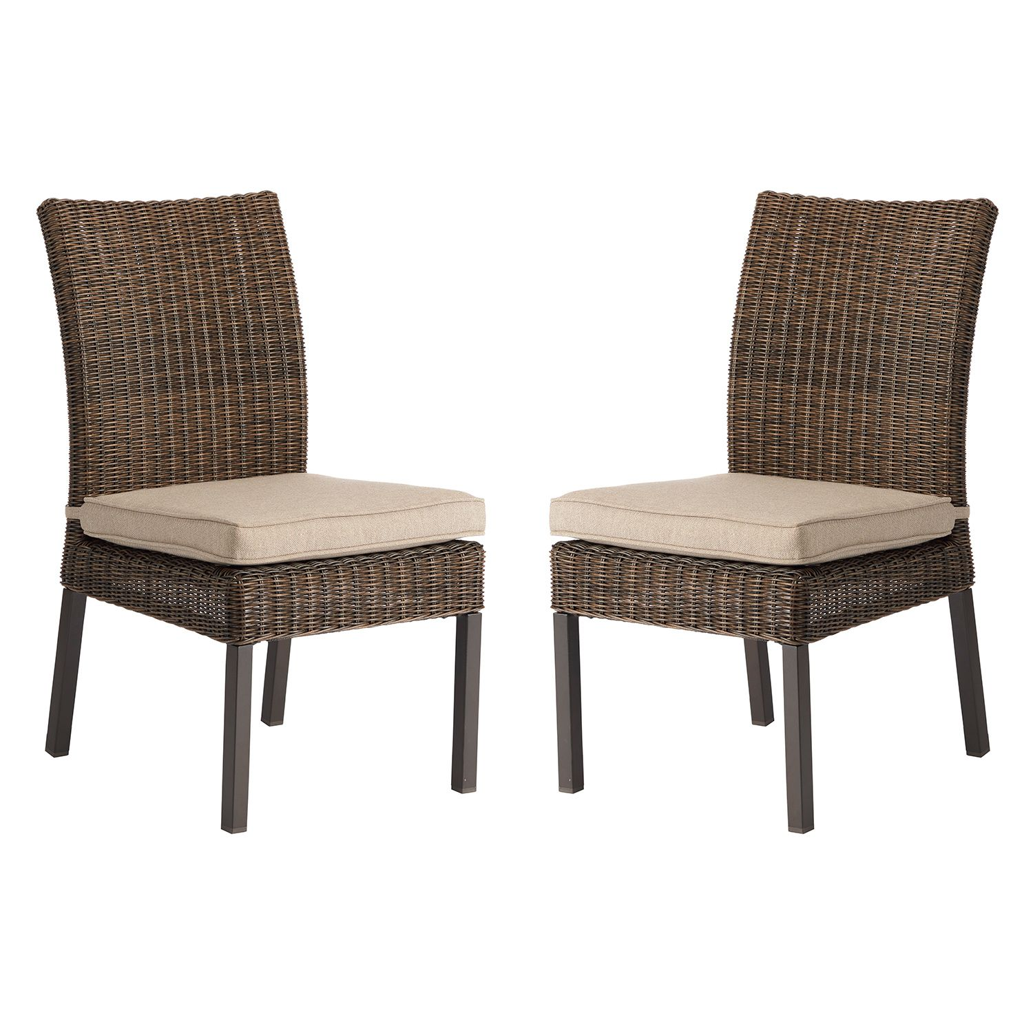 Bon SONOMA Goods For Life™ Brampton Outdoor Armless Dining Chair 2 Piece Set