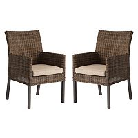 SONOMA Goods for Life™ Brampton Outdoor Arm Dining Chair 2 pc Set