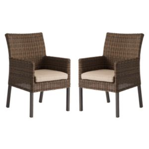 SONOMA Goods for Life™ Brampton Outdoor Arm Dining Chair 2-piece Set