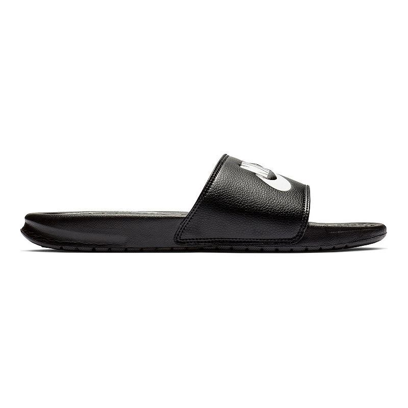 Nike Benassi JDI Men's Slide Sandals, Size: 14, Grey