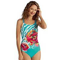 Women's Amoena Madagascar Floral One-Piece Swimsuit