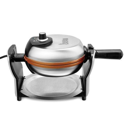 Bialetti Copper Titanium Ceramic Nonstick Waffle Maker