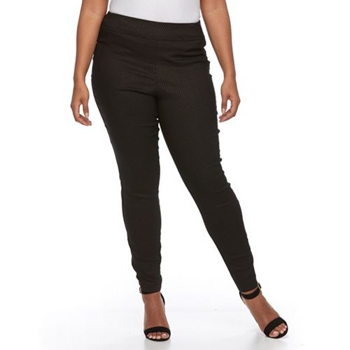 Plus Size Apt. 9® Brynn Millennium Pull-On Skinny Dress Pants