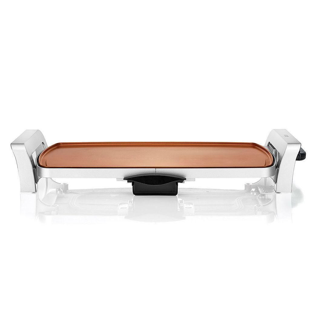 Bialetti Copper Titanium Ceramic Nonstick Electric Griddle