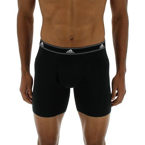 Men's adidas 2-Pack Relaxed Athletic Boxer Briefs