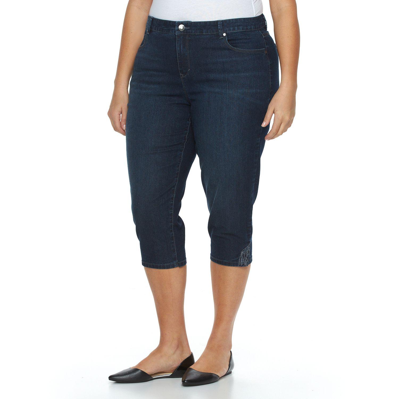 Gloria Vanderbilt Capris Plus Size
