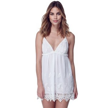 Women's Flora by Flora Nikrooz Ophelia Embroidered Chemise