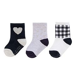 Girl 4-8 Carters 3 pkCrew Socks