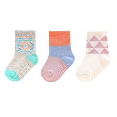 Girl 4-8 Carters 3-pk. Crew Socks