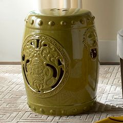 Safavieh Flower Drum Garden Stool