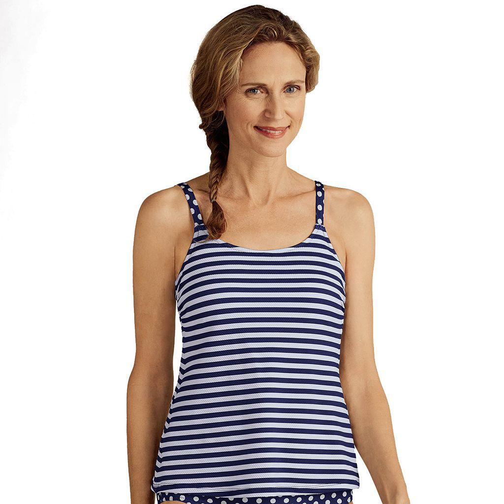 Women's Amoena Tavira Striped Tankini Top