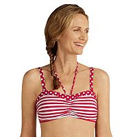 Women's Amoena Tavira Striped Halter Bikini Top