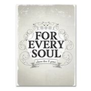 Trademark Fine Art 'Every Soul' Canvas Wall Art