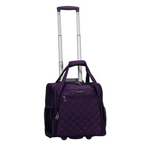 Rockland Melrose Wheeled Underseater Carry-On Luggage