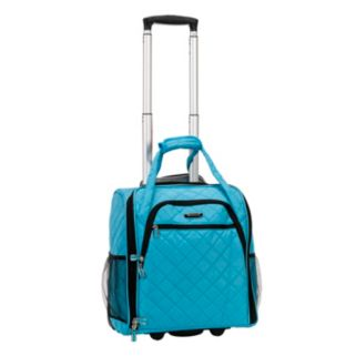 Rockland Melrose Wheeled Underseat Carry-On Luggage