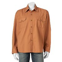 Men's Bear River Classic-Fit Washed Twill Button-Down Shirt