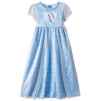 Disney's Frozen Elsa Girls 4-8 Nightgown