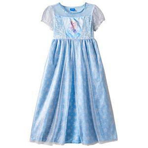 Disney's Frozen Elsa Girls 4-8 Nightgown