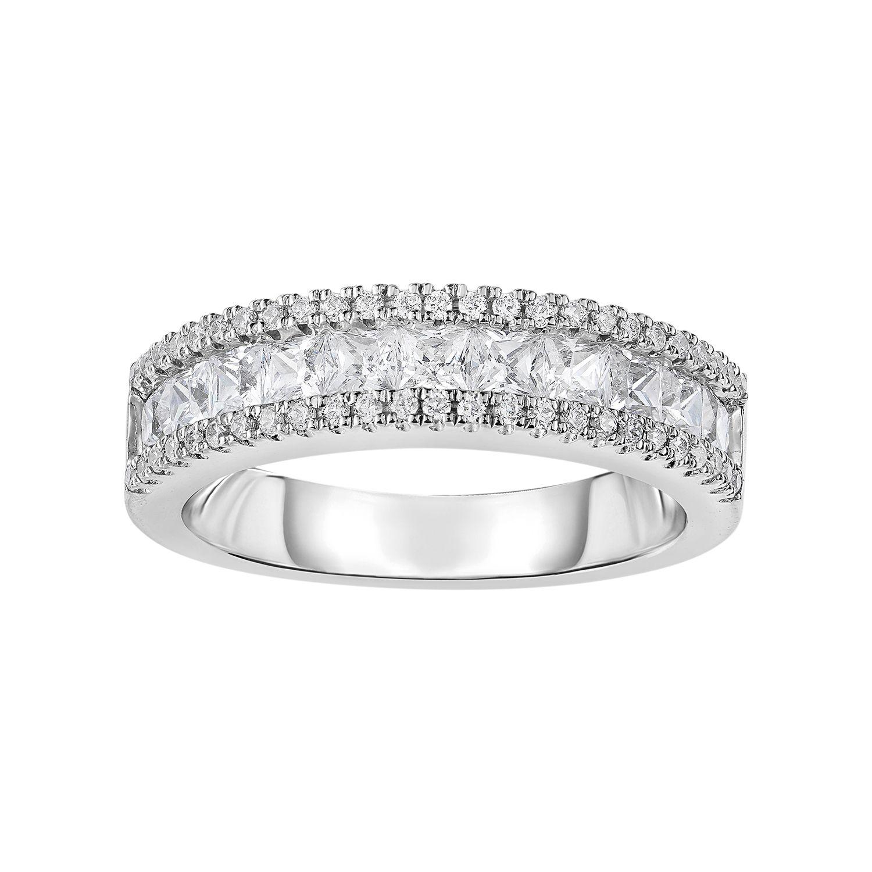 Cubic Zirconia Wedding Bands Rings Jewelry Kohls