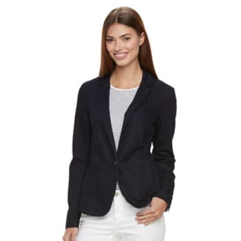 Women's Apt. 9® Torie Denim Blazer