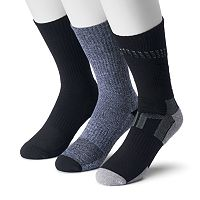 Men's Tek Gear® 3-pack CoolTek Performance Crew Socks