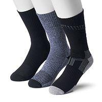 Men's Tek Gear® 3-pack CoolTek Performance Crew Socks