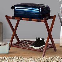 Casual Home Shelf Luggage Rack