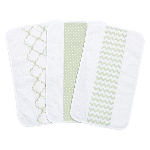 Trend Lab 3-Pk. Jumbo Burp Cloth Set