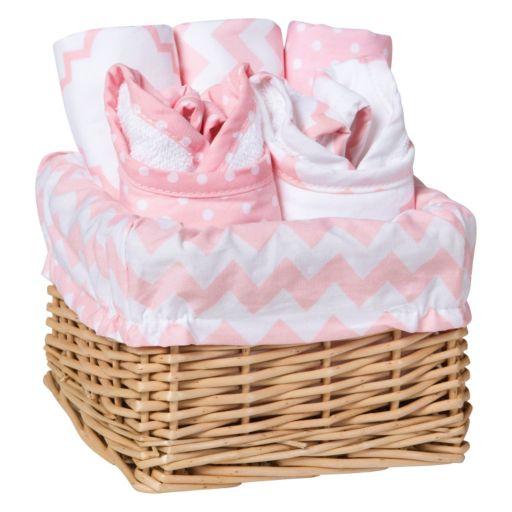 Trend Lab 7-Pc. Feeding Basket Gift Set