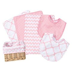 Trend Lab 7 pc Feeding Basket Gift Set