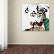 Trademark Fine Art Audrey Canvas Wall Art